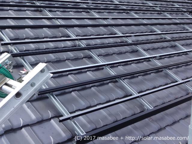 太陽光架台の設置状況(完了)