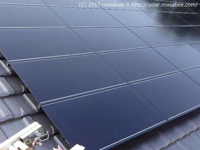 太陽光パネル設置状況(完了)