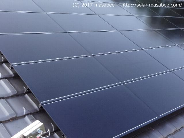 太陽光発電のパネル(CIS系)